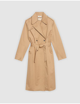 Trench Coat With Lace Insert by Sandro Eshop