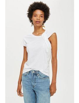 Twist Strap Tank Top by Topshop