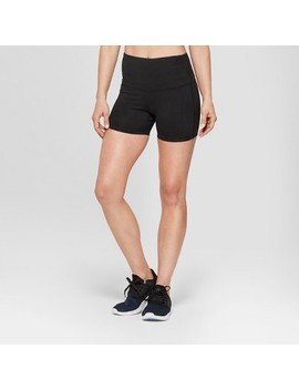 Women's Freedom High Waisted Boyshorts   C9 Champion® Black by Shop All C9 Champion®