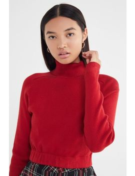 Urban Renewal Recycled Cropped Turtleneck Sweater by Urban Renewal