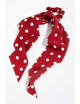 Polka Dot Scarf Pony by Free People