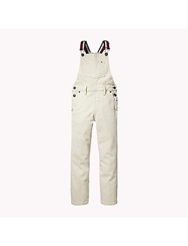Th Kids Overalls + Iron On Patches by Tommy Hilfiger