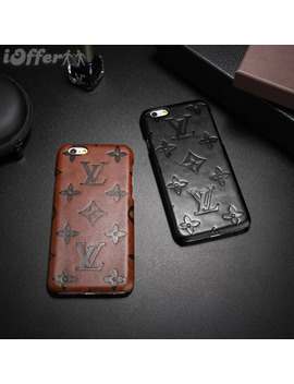 I Phone 6 Plus / 6s Plus Case Luxury Leather Shell by I Offer