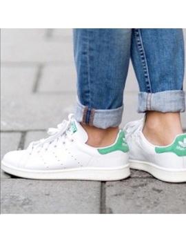 Adidas Stan Smith Green White Men's Sneakers by Adidas