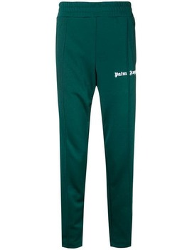 Palm Angelsside Striped Track Pantshome Men Palm Angels Clothing Sweatpants by Palm Angels