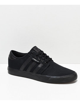 Adidas Seeley Black Shoes by Adidas