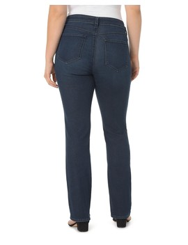 Marilyn Straight Jeans In Noma by Nydj Plus