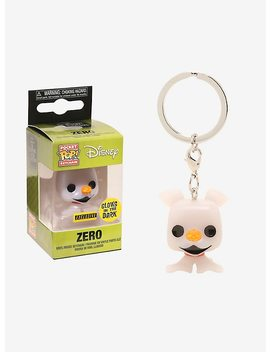 Funko The Nightmare Before Christmas Pocket Pop! Zero Key Chain by Hot Topic