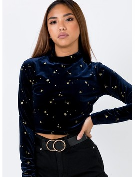 Minkpink Constellation Crop Top by Minkpink