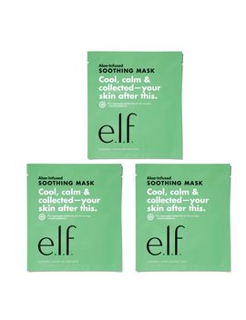 Soothing Sheet Mask Trio by Eyes Lips Face Cosmetics