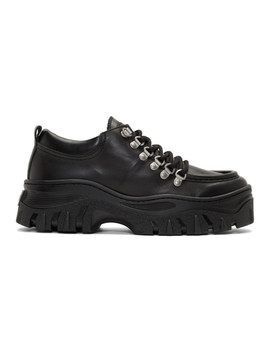Black Chucky Double Sole Sneakers by Msgm
