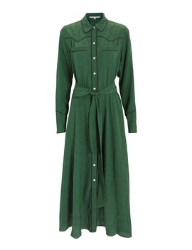 Spur Green Midi Dress by Veronica Beard