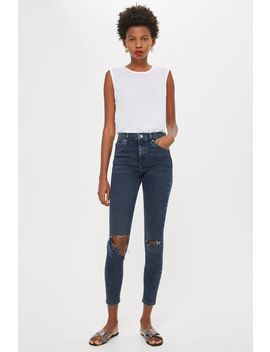 Sulphur Flap Ripped Jamie Jeans by Topshop