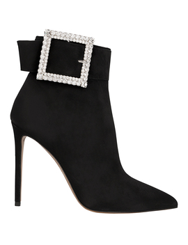 Yasmin Buckle Booties by Alexandre Vauthier
