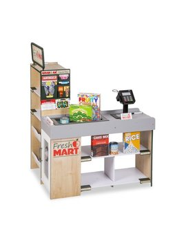 Melissa & Doug Freestanding Wooden Fresh Mart Grocery Store by Melissa & Doug