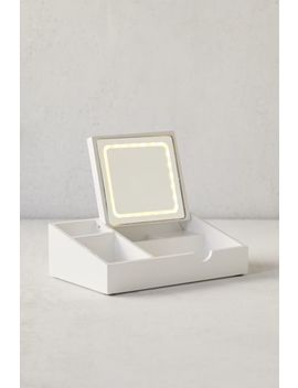Light Up Mirror + Storage Tray by Urban Outfitters