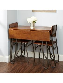 Henry Drop Leaf Table With Hairpin Legs by Generic