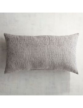 Delaney Chenille Green Lumbar Pillow by Pier1 Imports