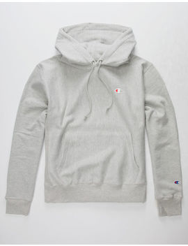 Champion Reverse Weave Grey Mens Hoodie by Champion