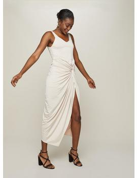 Champagne Twist Maxi Dress by Miss Selfridge