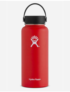 Hydro Flask Lava 32oz Wide Mouth Water Bottle by Hydro Flask