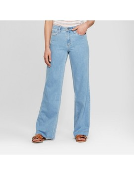 Women's High Rise Wide Leg Jeans   Universal Thread™ Light Wash by Shop All Universal Thread™