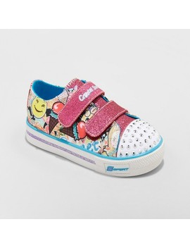 Toddler Girls' S Sport By Skechers Glimmer Stars Light Up Sneakers by Shop All S Sport By Skechers