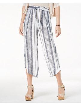 Juniors' Cropped Flyaway Pants, Created For Macy's by American Rag