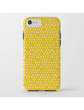 Yellow Modernist I Phone Case by