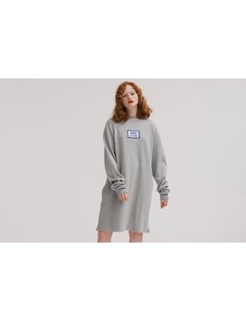 Lazy Oaf Konnichiwa Sweater Dress by Lazy Oaf