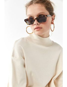 Costello Rectangle Sunglasses by Urban Outfitters