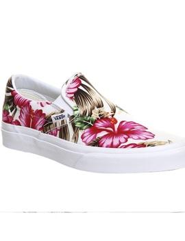 Vans Off The Wall Hawaiian Floral Pink Tropical by Vans