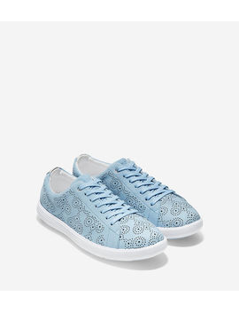 Women's Grand Crosscourt Perforated Sneaker by Cole Haan
