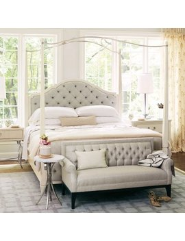 Bernhardt Savoy Place Poster Upholstered Panel Bed by Bernhardt