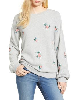Embroidered Sweatshirt by Caslon®