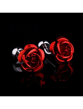 Exclusive Cufflinks Gift Box // Red Rose by Touch Of Modern