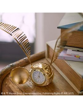 Harry Potter™ Golden Snitch™ Clock by P Bteen