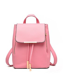 Fashion Shoulder Bag Rucksack Pu Leather Women Girls Ladies Backpack Travel Bag by Oasd