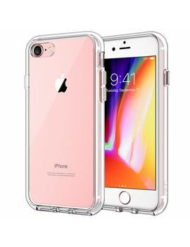 Je Tech Case For Apple I Phone 8 And I Phone 7, 4.7 Inch, Shock Absorption Bumper Cover, Anti Scratch Clear Back, Hd Clear by Je Tech
