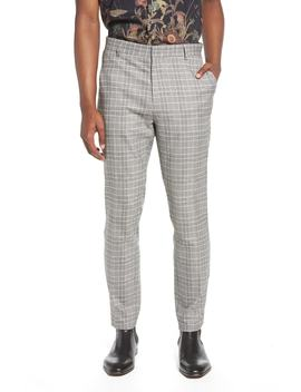 Check Trousers by Topman
