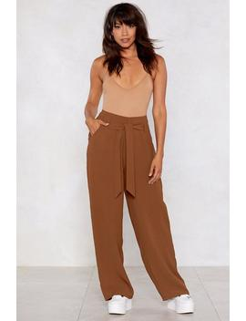That's The Way High Waisted Pants by Nasty Gal