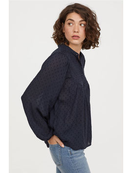 Pattern Weave Blouse by H&M