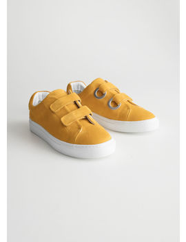 Duo Scratch Strap Sneakers by & Other Stories