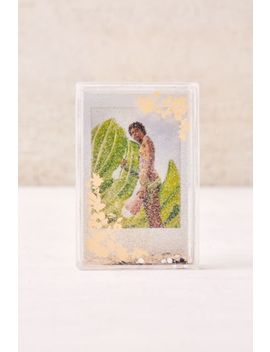 Mini Instax Floral Glitter Picture Frame by Urban Outfitters
