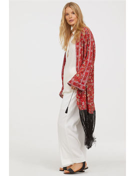 Kimono With Fringe by H&M