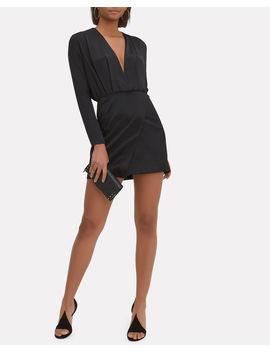 Elin Blouson Silk Mini Dress by Cushnie Et Ochs