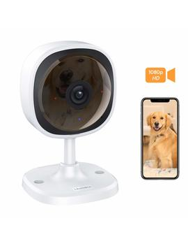 Lensoul 1080 P Hd Security Camera, Wireless Ip Camera Built In Two Way Audio, Motion Detection, 2.4 G Security Surveillance Cctv Camera Night Vision Cloud Service Available by Lensoul