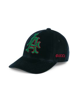 La Velvet Ball Cap by Gucci