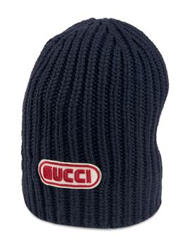 new-logo-wool-beanie by gucci