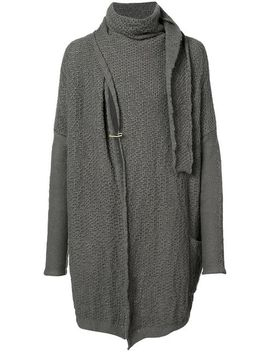 Wrap Neck Cardigan by Daniel Andresen